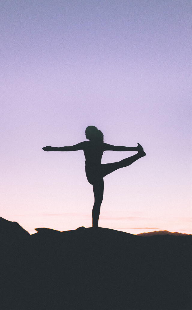 Remix your imagination into this image!	 Unsplash (Public Domain) #yoga #girl #girls #people #silhouette #freetoedit