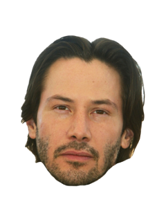 keanureeves head meme fun funny freetoedit
