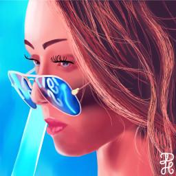 art neonlight dcsunglasses sunglasses