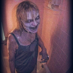 freetoedit shower zombie female girl