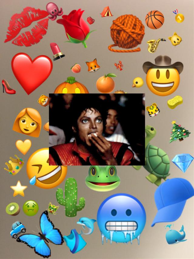 #michael #michaeljackson❤ #ilovemj #rainbows #art #emoji #popcorn