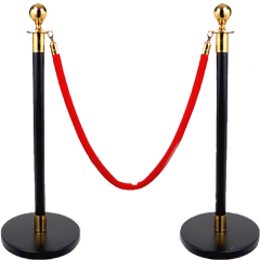 red rope barier museum vip freetoedit