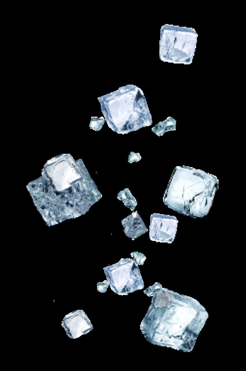 Ice Icecube Icecubes Sticker Sticker By Henni