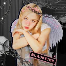 roseblackpink blackpink kawaii kpop bts freetoedit