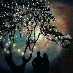 datenight stringlights couple romantic masonjars freetoedit