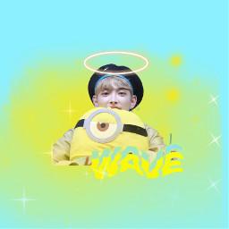 ateez ateezhongjoong ateezedit ateezwave wave freetoedit