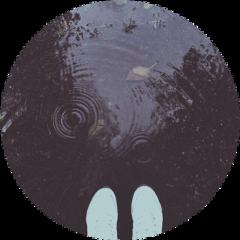 moody rain raindrop puddle circle freetoedit