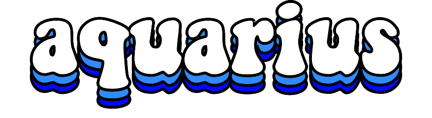 aquarius air waterbearer astrology zodiac freetoedit