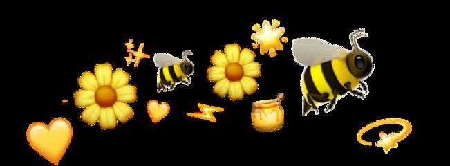 freetoedit hearts yellow yellowheart stickers