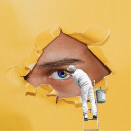 ircglance glance freetoedit painter eye