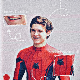 tomholland peterparker spiderman anatomyedit aesthetic