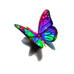 ftestickers butterfly sparkles shadoweffect colorful freetoedit