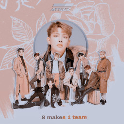 ATEEZ 8makes1team freetoedit irckcon2019ny kcon2019ny