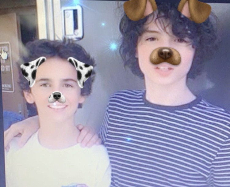 Cuties Finnie❤️ and Jack💙