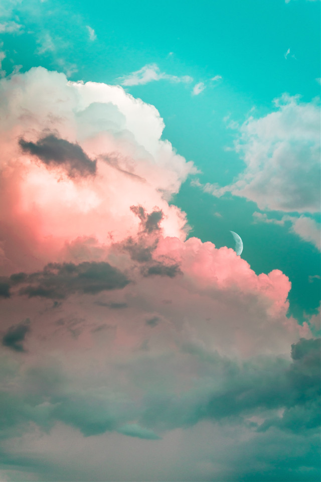 #cloud #clouds #sky #aesthetic #background #freetoedit