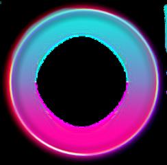 wheel roda circulo neon
