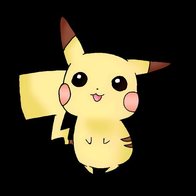 #cute #kawaii #pikachu pika PIKA~~uwu my line art #freetoedit