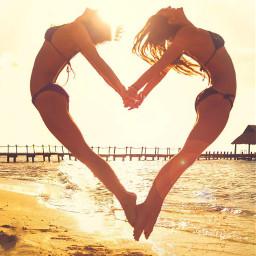 freetoedit love friendship gymnastics teamwork