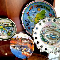 freetoedit plates roundshape ceramics souvenirs pcsomethinground