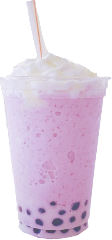 #bobba #boba #drink #pinkdrink #whippedcream #freetoedit
