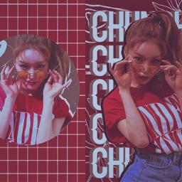 kimchungha ioichungha chungha red kpopedit