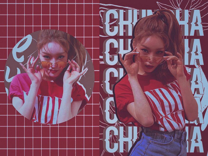 ꨄ Kɪᴍ Cʜᴜɴɢʜᴀ ꨄ  #kimchungha #ioichungha #chungha_edit #red #kpopedit #kpop