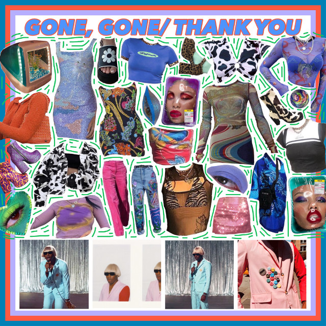 #freetoedit #tyler #tylerthecreator #gone,gone/thankyou #moodboard #unif #aesthetic