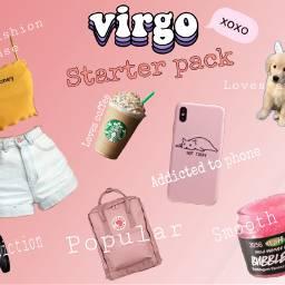 virgo aesthetic pink lush virgostarterpack freetoedit