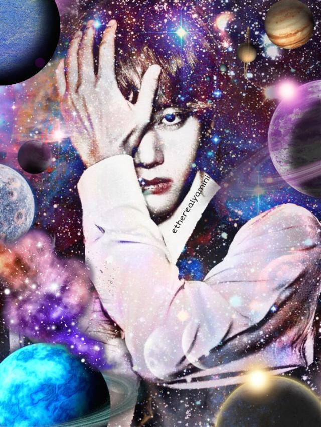 ~Galaxy's child🌚🌃♥️ For@/bts_iu❣️      #kimtaehyung#taehyung#tae#taetae#mybias#galaxy#planets#sky#stars#aesthetic#tumblr#bts#btsarmy #kpop#kpopidol#photoshoot