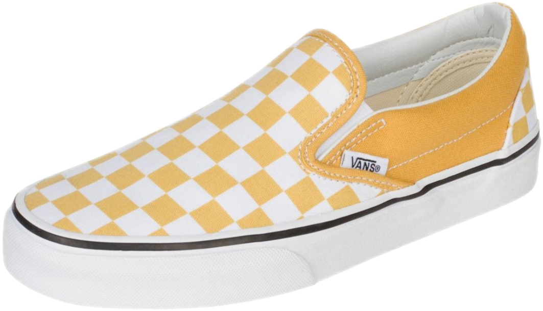 yellow vans transparent