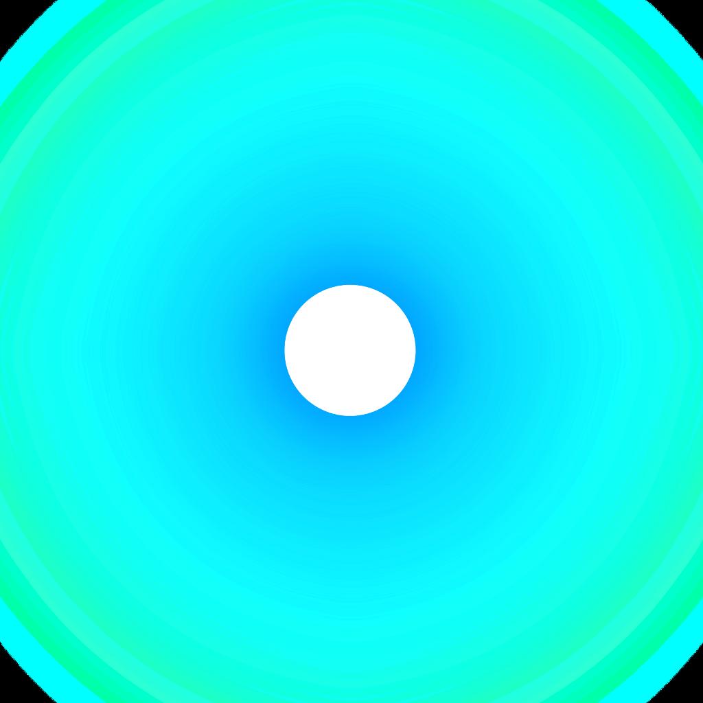 light neon neonlight flare blue circle freetoedit