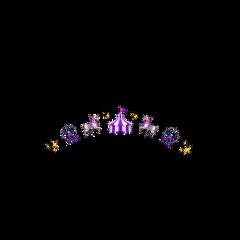 purple cute sparkle aesthetic circus freetoedit