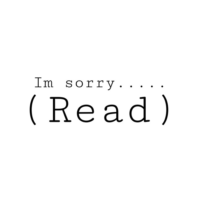 """Read. (Important)  Hey..    ...Basically, my old account is @suga_yoongi_min and I'm sorry I didn't tell anyone earlier....    Now to what I wanted to say... I'm sorry.  I'm sorry for being a horrible friend.  I'm sorry for not telling anyone for no reason.  I'm sorry for just leaving all the suddenon my old account.   I'm sorry for only telling you now even tough I got a new device.  I'm sorry that I'm so stupid. I'm sorry for not being the same """"me"""" anymore.    I've changed negatively in a lot of ways...    1. I'm more sad these days.    2. Not a complete sunshine anymore.    3. Horrible person for no reasons.    4.-    (It goes on and on)     Same-ish caption...  forgive me...   #truth #sorry #isuck #imstupid"""