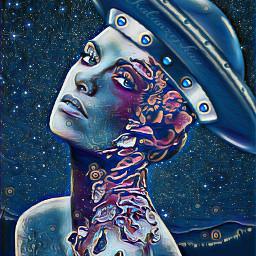 freetoedit midnightmagiceffect beautifull art women srctheyrehere