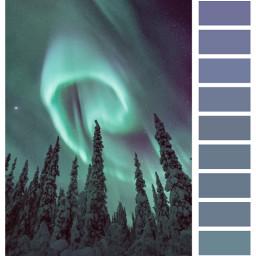 ecpaletteshow paletteshow freetoedit polarlights snow