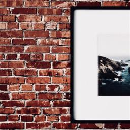 freetoedit picsart brickwall simplicity contrast