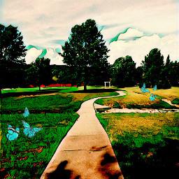 fallynpixie park greenmagiceffect butterflybrush