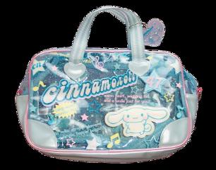 bag plastic cute blue png freetoedit