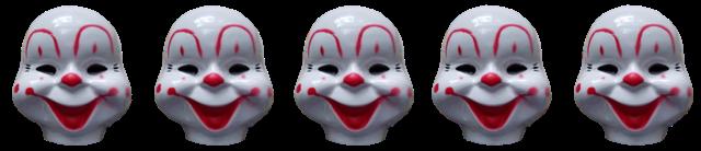 clown creepy cute circus antique freetoedit