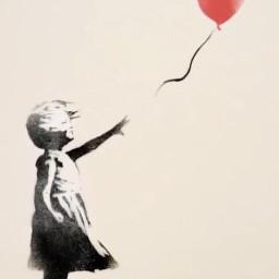 girl heartballoon balloon red heartshaped