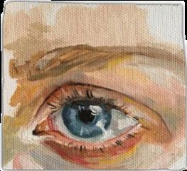arthoe painting aesthetic eye freetoedit