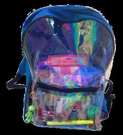 bag bags backpack plastic transparent freetoedit