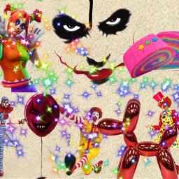clowns freetoedit