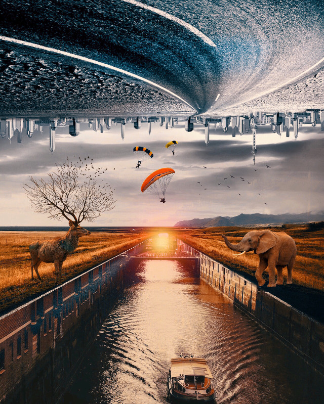 #freetoedit #madewithpicsart #dream #surreal #saturday #editing