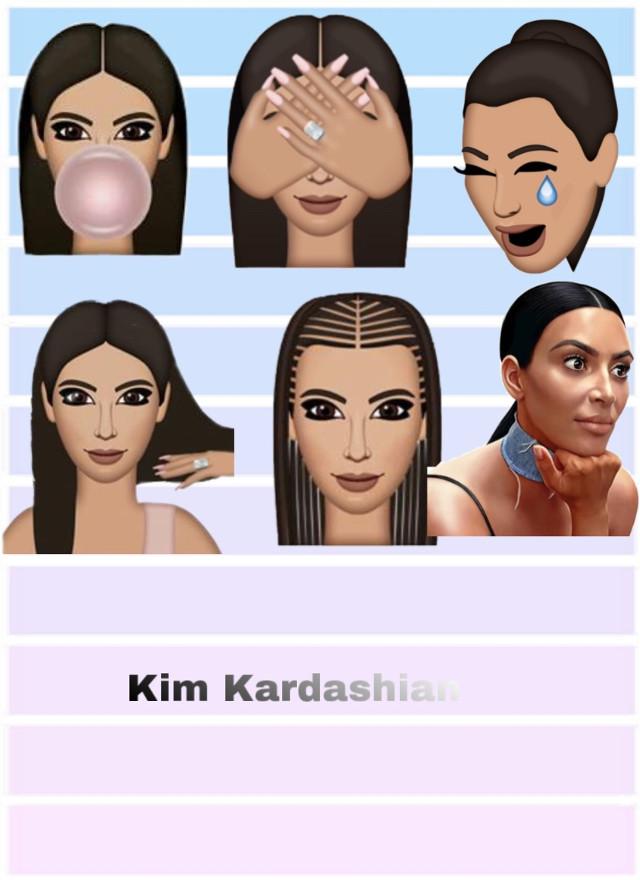 Witch is your fav #kimkardashian  #freetoedit
