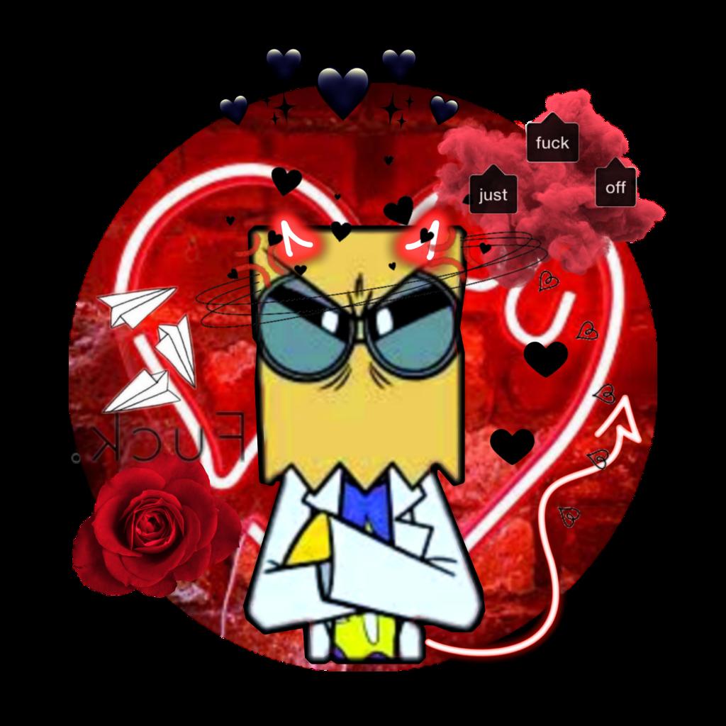 villainous dr flug flug v: - Sticker by Danegrat
