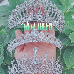 green lightgreen crown tiaras aesthetic