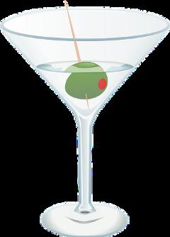 martini olive cocktail beverage freetoedit