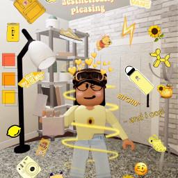 roblox yellowaesthetic vans freetoedit