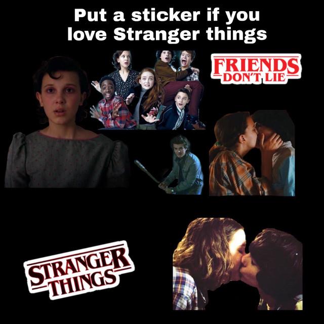 #freetoedit #strangerthings add a sticker if you love stranger things 🤠